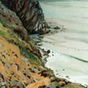 Big Sur California Poster
