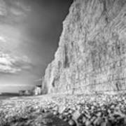 Birling Gap And Seven Sisters Poster