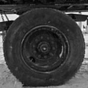 Black Wheel Poster
