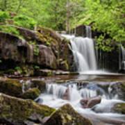 Blaen Y Glyn Waterfalls Poster