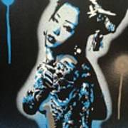 Blue Geisha Poster