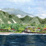 Blue Lagoon Bali Indonesia Poster