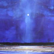 Blue Night Magic Poster