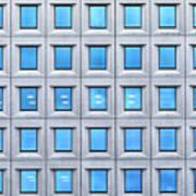Blue Windows Poster