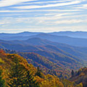 Blue Ridge Parkway View Poster