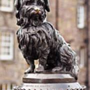 Bobby Statue, Edinburgh, Scotland Poster
