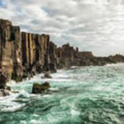 Bombo Headland Quarry At Kiama, Australia Poster