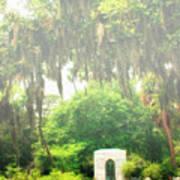 Bonaventure Cemetery Savannah Ga Poster by William Dey