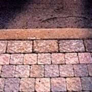 Brick Sidewalk 3 Wc Poster