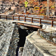 Bridge By Kaaterskill Falls 1 Poster