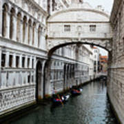 Bridge Of Sighs, Venice, Italy Poster