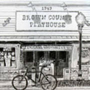 Brown County Playhouse Poster