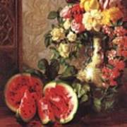 bs- George Henry Hall- Still Life George Henry Hall Poster