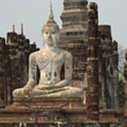 Buddha At Sukhothai Poster