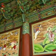 Buddhist Murals Poster