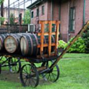Buffalo Trace Barrel Wagon Poster
