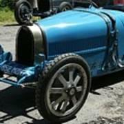 Bugatti Oldtimer Poster