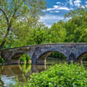 Burnside Bridge, Antietam Poster