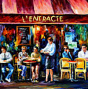 Cafe In Paris Poster