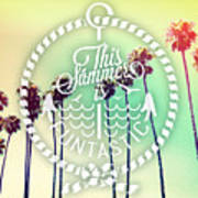 California Palms IIi Poster