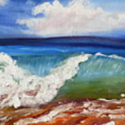 California Seascape Poster