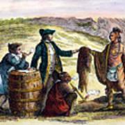 Canada: Fur Traders, 1777 Poster