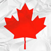 Canada National Flag Poster