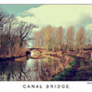 Canal Bridge Poster