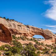Canyon Badlands And Colorado Rockies Lanadscape Poster