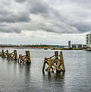 Cardiff Bay Panorama Poster