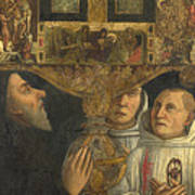Cardinal Bessarion With The Bessarion Reliquary Poster
