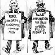 Cartoon: U.s. Neutrality Poster