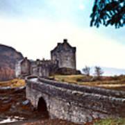 Castle Eilean Scotland Poster