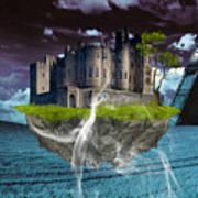 Castle In The Sky Art Poster