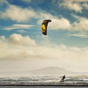 Cefn Sidan Beach 1 Poster