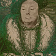 Celebrity Etchings - Donald Trump Poster