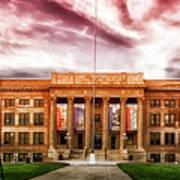 Central High School - Pueblo Colorado Poster