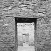 Chaco Canyon Doorways 1 Poster