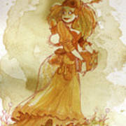 Chamomile Poster by Brian Kesinger