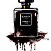 Chanel Noir Perfume Poster