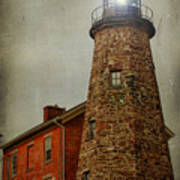 Charlotte Genesee Lighthouse Poster