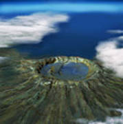 Chicxulub Crater, Illustration Poster