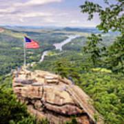 Chimney Rock State Park Poster