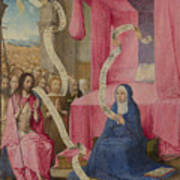 Christ Appearing To The Virgin Poster