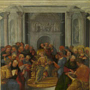 Christ Disputing With The Doctors Poster