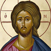 Christ Pantokrator Poster by Julia Bridget Hayes