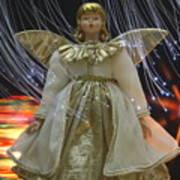 Christmas-angel Poster