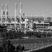 Cincinnati Reds Stadium Poster
