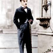 City Lights, Charlie Chaplin, 1931 Poster by Everett