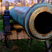 Civil War Cannon 1862 In Gettysburg Pa Poster